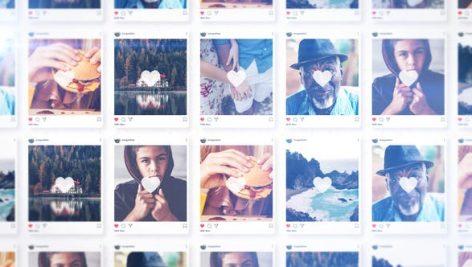 پروژه پریمیر با موزیک لوگو 4K تبلیغات اینستاگرام Instagram Intro Premiere Pro