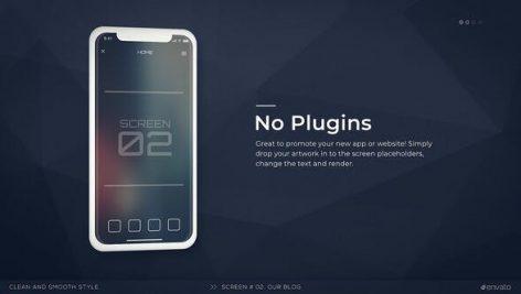 پروژه پریمیر با موزیک معرفی برنامه موبایل Mobile App Promo