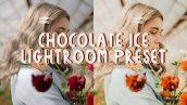 پریست لایت روم دسکتاپ و موبایل تم شکلاتی Chocolate Ice Lightroom Preset