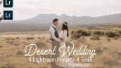 پریست لایت روم عروسی تم عروس صحرا Desert Wedding Lightroom Presets