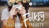 پریست لایت روم و پریست کمرا راو تم پرتره Folksy Lightroom Presets