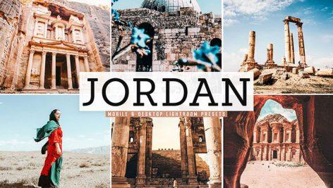 پریست لایت روم و Camera Raw و اکشن تم اردن Jordan Mobile Desktop Lightroom Presets