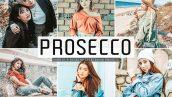 پریست لایت روم و Camera Raw و اکشن تم پروسکو Prosecco Mobile Desktop Lightroom Presets