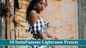 10 پریست لایت روم مخصوص عکس اینستاگرام InstaFamous Lightroom Presets