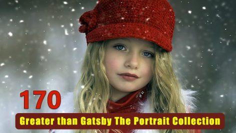 170 پریست لایت روم و کمرا راو پرتره Greater than Gatsby The Portrait Collection
