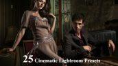 25 پریست سینمایی لایت روم دسکتاپ Cinematic Lightroom Presets