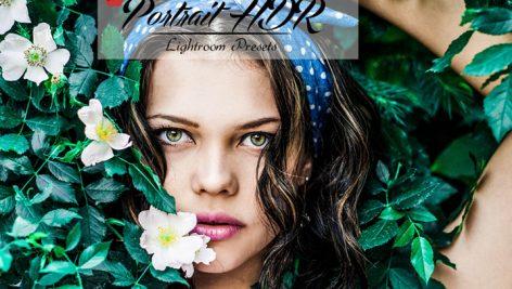 30 پریست لایت روم سبک HDR پرتره Portrait HDR Lightroom Presets