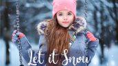 50 پریست لایتروم و براش لایت روم تم برفی Let it Snow Lightroom Presets