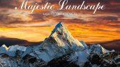 50 پریست لایتروم و براش لایت روم طبیعت باشکوه Majestic Landscape Lightroom Presets