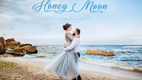 50 پریست لایتروم و براش لایت روم ماه عسل Honey Moon Lightroom Presets