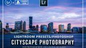 50 پریست لایتروم و کمرا راو تم منظره شهری Pro Cityscape Lightroom Presets