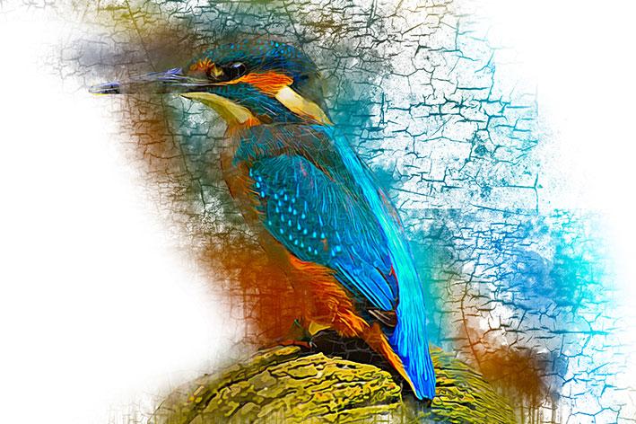 اکشن فتوشاپ تم نقاشی آبرنگ Watercolor Painting Photoshop Action