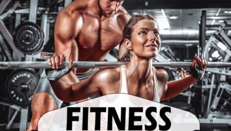 اکشن فتوشاپ و پریست کمرا راو ورزشی Fitness Photoshop Actions and Presets
