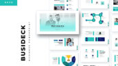 تم پاورپوینت و گوگل اسلایدر BusiDeck PowerPoint, Keynote, Google Slides Templates