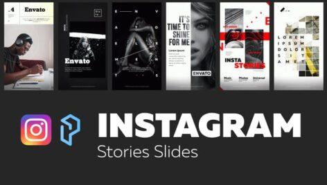پروژه افتر افکت تبلیغات استوری اینستاگرام Instagram Stories Slides Vol. 4