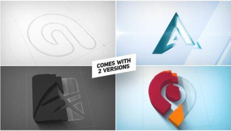پروژه افتر افکت نمایش لوگو سه بعدی آرشیتکت Architect 3D Logo Reveal
