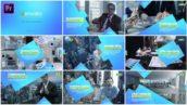پروژه پریمیر با موزیک معرفی شرکت Peak Corporate slideshow Premiere Pro