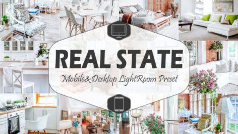 پریست لایتروم عکاسی املاک Real State Mobile And Desktop Lightroom