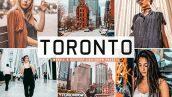 پریست لایت روم و کمرا راو تورنتو کانادا Toronto Pro Lightroom Preses Pack