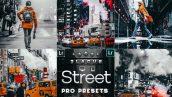 پریست لایت روم و کمرا راو عکاسی خیابانی Streetographie Cinematic Lightroom Presets