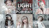 پریست لایت روم و کمرا راو پرتره کودک Light Portrait Presets Mobile and Desktop Lightroom