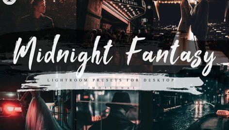 پریست لایت روم و Camera Raw نیمه شب فانتزی Midnight Fantasy Lightroom Presets