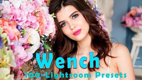 100 پریست لایت روم دسکتاپ پرتره Wench Lightroom Presets