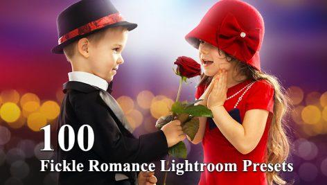 100 پریست لایت روم عروسی دسکتاپ Fickle Romance Lightroom Presets