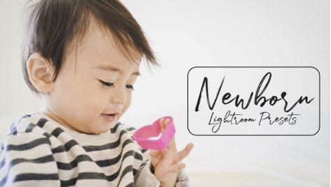 100 پریست لایت روم مخصوص آتلیه نوزاد و کودک Newborn Lightroom Presets