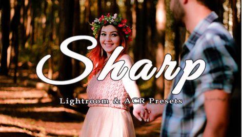 100 پریست لایت روم و کمرا راو تم شارپ Sharp Lightroom and ACR Presets
