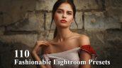 110 پریست لایت روم حرفه ای فشن Fashionable Lightroom Presets