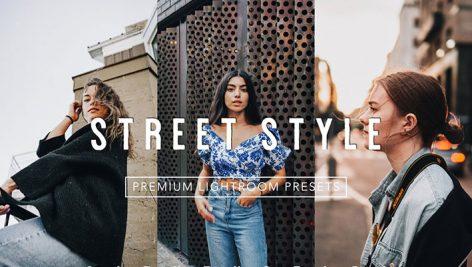 12 پریست لایت روم دسکتاپ و موبایل تم خیابانی Clean STREET STYLE Lightroom Presets