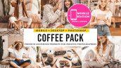 12 پریست لایت روم و پریست کمرا رو تم قهوه Coffee Lightroom Presets