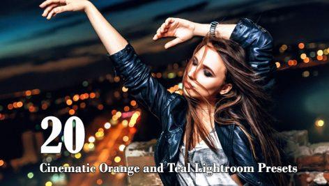 20 پریست لایت روم سینمایی Cinematic Orange and Teal Lightroom Presets