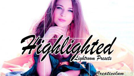 200پریست لایت روم دسکتاپ و موبایل تم نورانی Highlighted Mobile Lightroom Presets