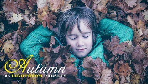25 پریست لایت روم تم رنگی فصل پاییز Autumn Lightroom Presets