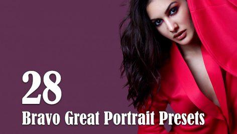 28 پریست لایتروم دسکتاپ و موبایل پرتره Bravo Great Portrait Presets