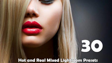 30 پریست لایتروم پرتره Hot and Real Mixed Lightroom Presets
