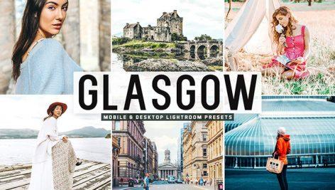 34 پریست لایت روم و Camera Raw بندر گلاسکو اسکاتلند Glasgow Mobile And Desktop Lightroom Presets