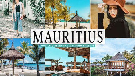 34 پریست لایت روم و Camera Raw جزیره موریتیوس ماداگاسکار Mauritius Mobile And Desktop Lightroom Presets