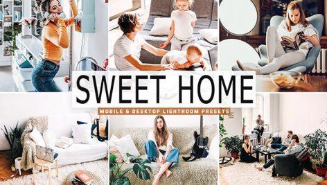34 پریست لایت روم و Camera Raw خانه دلنشین Sweet Home Mobile And Desktop Lightroom Presets