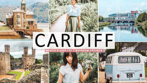 34 پریست لایت روم و Camera Raw و اکشن Cardiff Mobile And Desktop Lightroom Presets