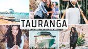34 پریست لایت روم و Camera Raw و اکشن Tauranga Mobile And Desktop Lightroom Presets