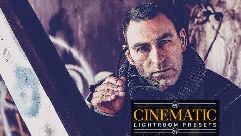 40 پریست لایتروم افکت سینمایی Cinematic Lightroom Presets V2
