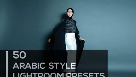 50 پریست لایت روم تم عکس عربی Premium Arabic Style Lightroom Presets