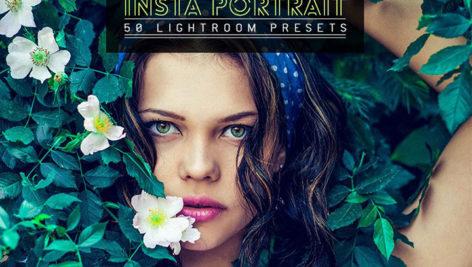 50 پریست لایت روم پرتره مخصوص اینستاگرام Insta Portrait Lightroom Presets