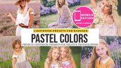 60 پریست لایت روم رنگی سینمایی و عروسی Pastel Lightroom Presets And Mobile Presets