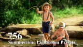 756 پریست لایت روم فصل تابستان Summertime Lightroom Presets