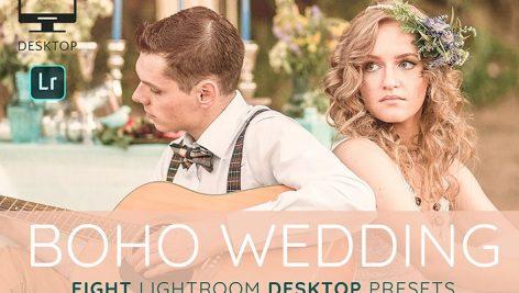 8 پریست لایت روم عروسی Boho wedding Lightroom presets