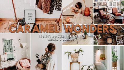 94 پریست لایت روم و پریست کمرا راو Caramel Wonders Presets
